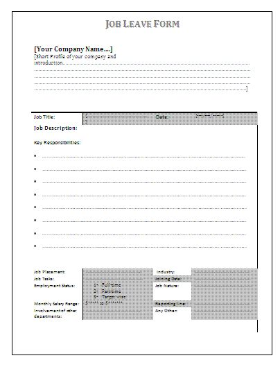 job application form template acas employment application