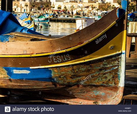maltese boat traditional maltese boat stock photos traditional
