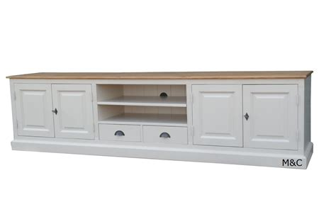 Ordinaire Meuble Tv En Bois Blanc #4: grand-meuble-tv-200-long-z.jpg