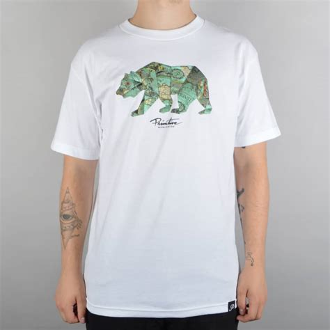 Kaosbajut Shirt Skateboard Primitive primitive apparel explorer skate t shirt white skate clothing from skate store uk