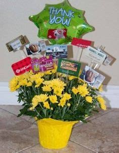 How To Display Gift Cards At A Silent Auction - 1000 ideas about gift card basket on pinterest gift card bouquet silent auction
