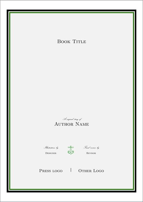 latex tutorial title page typography showcase of beautiful title page done in tex
