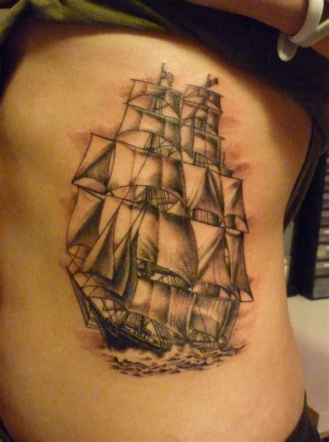 tattoo r 233 my ship on my ribs original drawing by r c