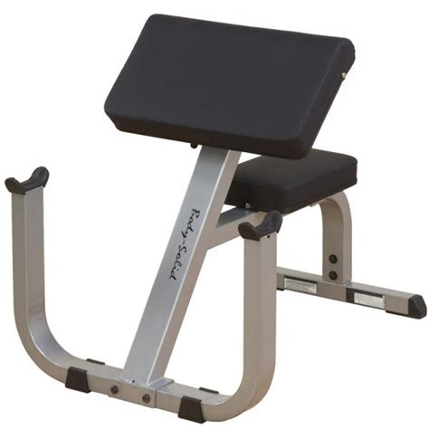 body solid preacher bench bodysolid freeweight preacher curl bench gpcb329 orbit