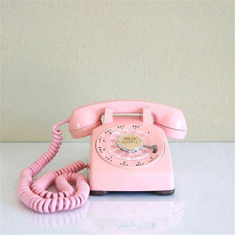 1959 pink desk phone