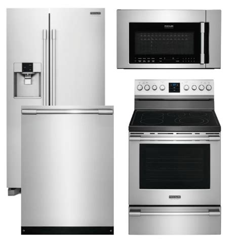 frigidaire professional kitchen appliance package package fp1 frigidaire appliance professional package