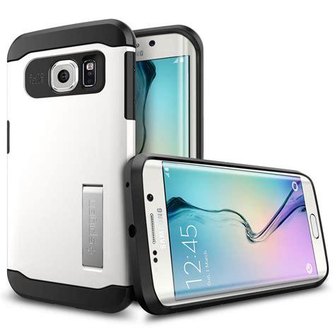 Spigen Samsung Galaxy S6 Edge Slim Armor Mobile Yellow spigen slim armor shimmery white galaxy s6 edge etui t 233 l 233 phone spigen sur ldlc