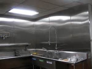 commercial kitchen backsplash a and r stainless steel solutions