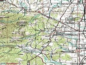 Dallas Oregon Map by 97338 Zip Code Dallas Oregon Profile Homes