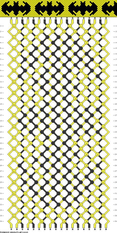pattern of net 22109 friendship bracelets net