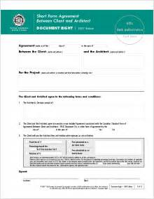 Architect Contract Template by Contracts Ontario Association Of Architects