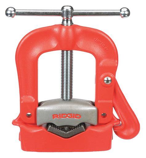 ridgid bench yoke vise    pipe capacity