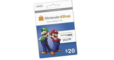 Eshop Gift Card Discount - best buy knocks 10 off nintendo eshop cards wii u