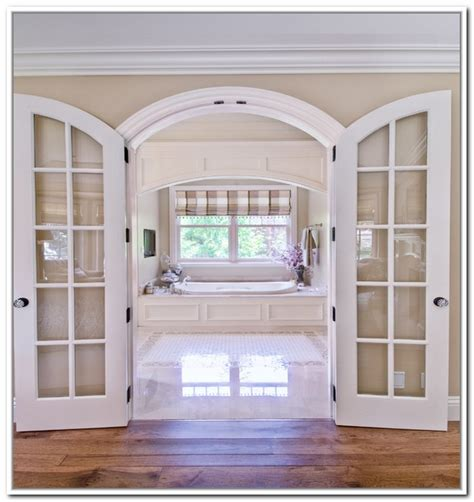 Furniture Old Fashionated Arched French Doors Interior Interior Arch Doors
