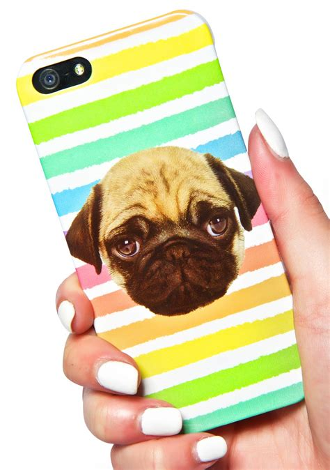 pug iphone 5 local heroes rainbow pug iphone 5 dolls kill