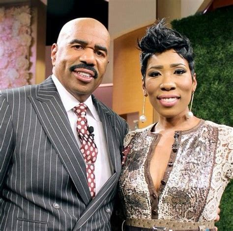 what color is steve harveys wife hair steve harvey his oldest daughter karli harvey black