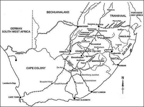 africa map 1900 1900 in africa