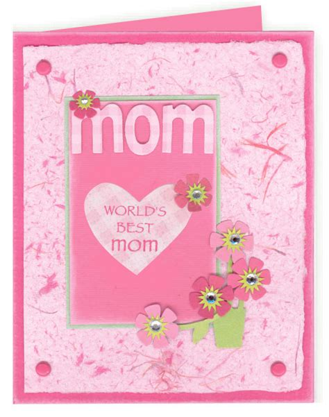 homemade mothers day card world 226 s greatest mom card favecrafts com
