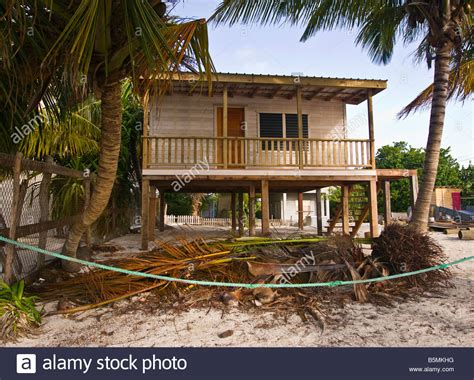 Beach Houses On Stilts caye caulker belize traditional wooden house on stilts on