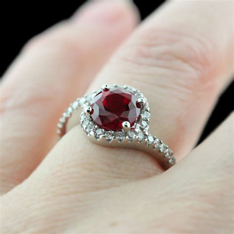 ruby engagement rings ruby engagement rings