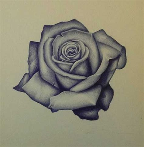 how to tattoo a realistic rose realistic stencil pictures to pin on