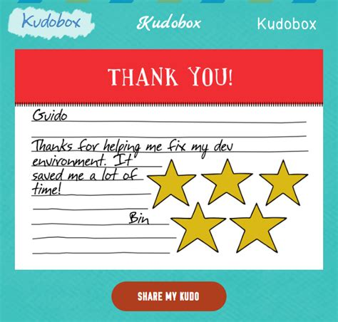 Kudos Card Template by Kudos Templates Images Search