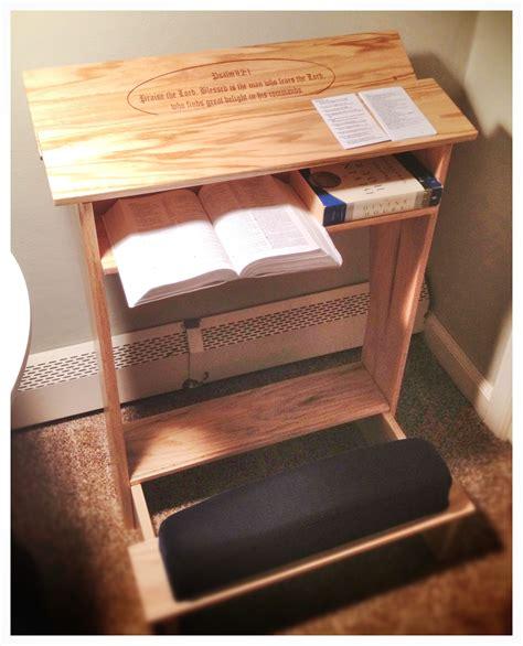 diy prayer kneeling bench plans   cabinet