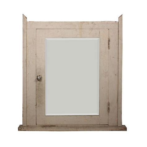 salvaged bathroom medicine cabinet with beveled mirror from preservationstation on ruby