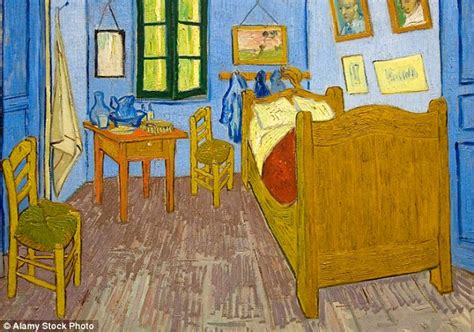 room identical to vincent gogh s bedroom in arles is