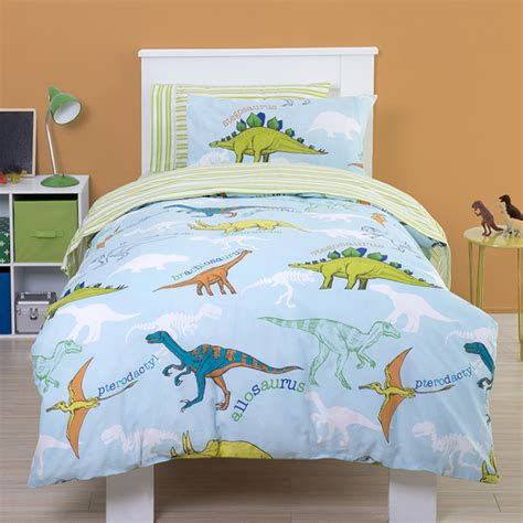 dinosaur toddler bedding dino junior bedding with a matching pillowcase