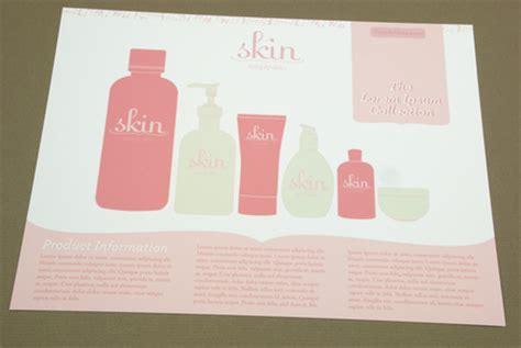 Pink Skin Care Flyer Template Inkd Free Skin Care Brochure Templates