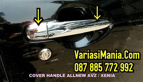 Jsl Cover Handle Chrome All New Avanza Xenia Veloz Merk Jsl jual list cover handle all new avanza xenia crome variasimania