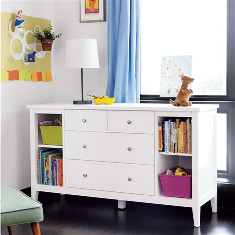 Dressers With Shelves by Dressers Modern White Poplar Dresser With