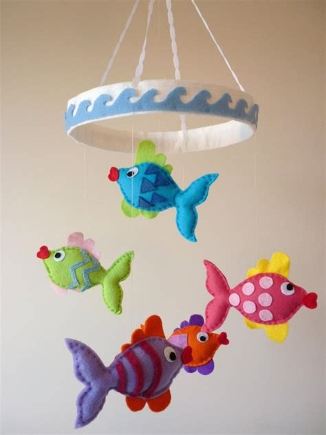 Fish Mobile For Crib by 17 Images About Mobiel Vilt On