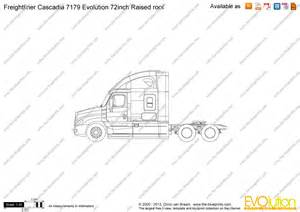drawing with measurements online the blueprints com vector drawing freightliner