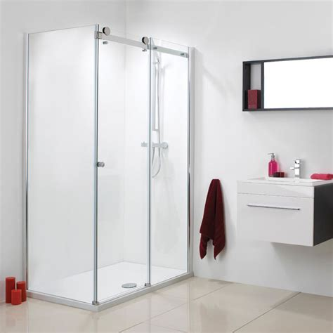 Phoenix 1200 Or 1400mm Motion Frameless Single Sliding 1200 Sliding Shower Door