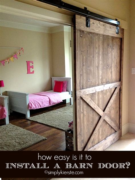 How Easy Is It To Install A Sliding Barn Door Tips How To Install Barn Doors Inside