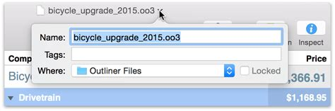 Ungroup Outliner by Omnioutliner 4 5 3 For Mac User Manual Using The Toolbar