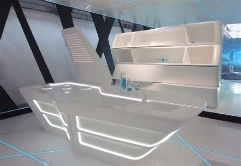 futuristic school desk futuristic pinterest kitchen furniture design in tron legacy inspiration for