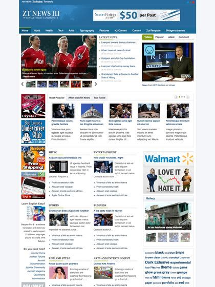 free joomla news template news joomla templates archives zootemplate