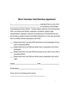 simple hold harmless agreement template 41 free hold harmless agreement templates free free