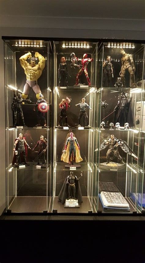 avengers hot toys   displaying collections