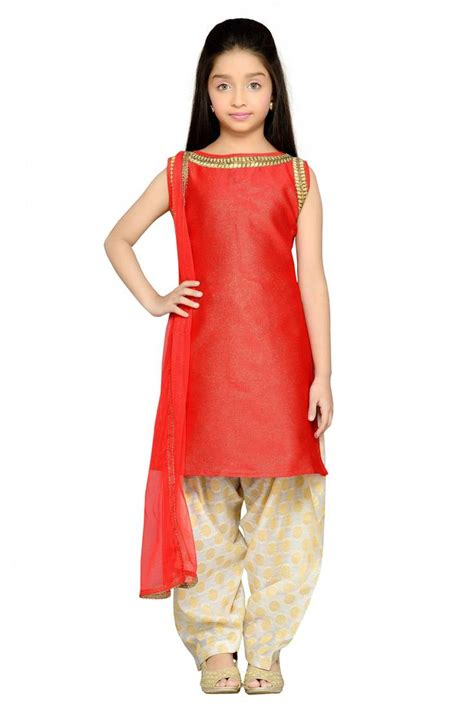 Buy Shiner Red Heavy Brocade Silk Dori Embroidery Lace