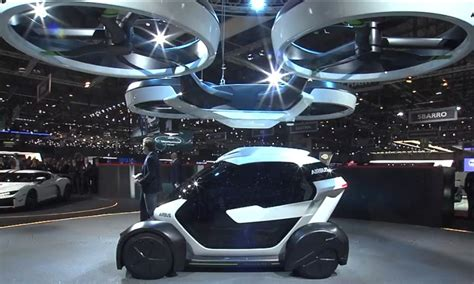 Flying Car Airbus by Airbus Finally Reveals Rumored Autonomous Flying Car