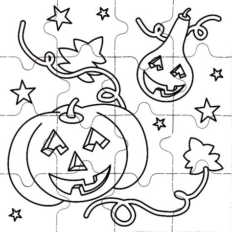 halloween coloring pages and puzzles halloween coloring pages halloween puzzles coloring pages
