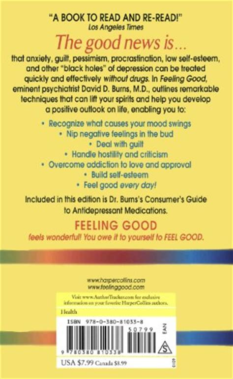 feeling good the new mood therapy ebook libro feeling good the new mood therapy di david d m d