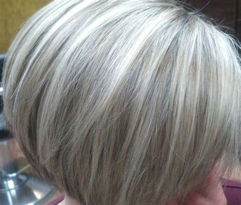 hairstyles for slightly grey highlighted hair pix for gt gray hair highlights lowlights hair