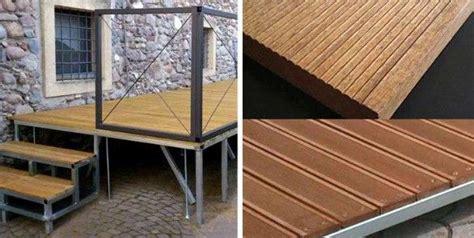 pedana per bar pedane in legno per dehor ombrelloni