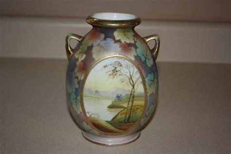 Nippon Vase by Antique Nippon Vase For Sale Antiques Classifieds