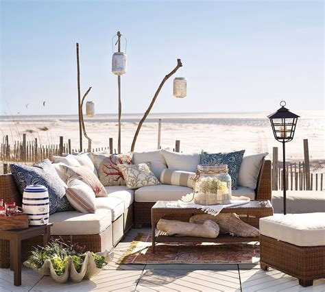 beach house furniture and interiors pottery barn beach furniture 2 interior design ideas